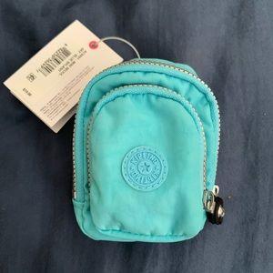 BNWT Kipling mini Seoul backpack keychain.